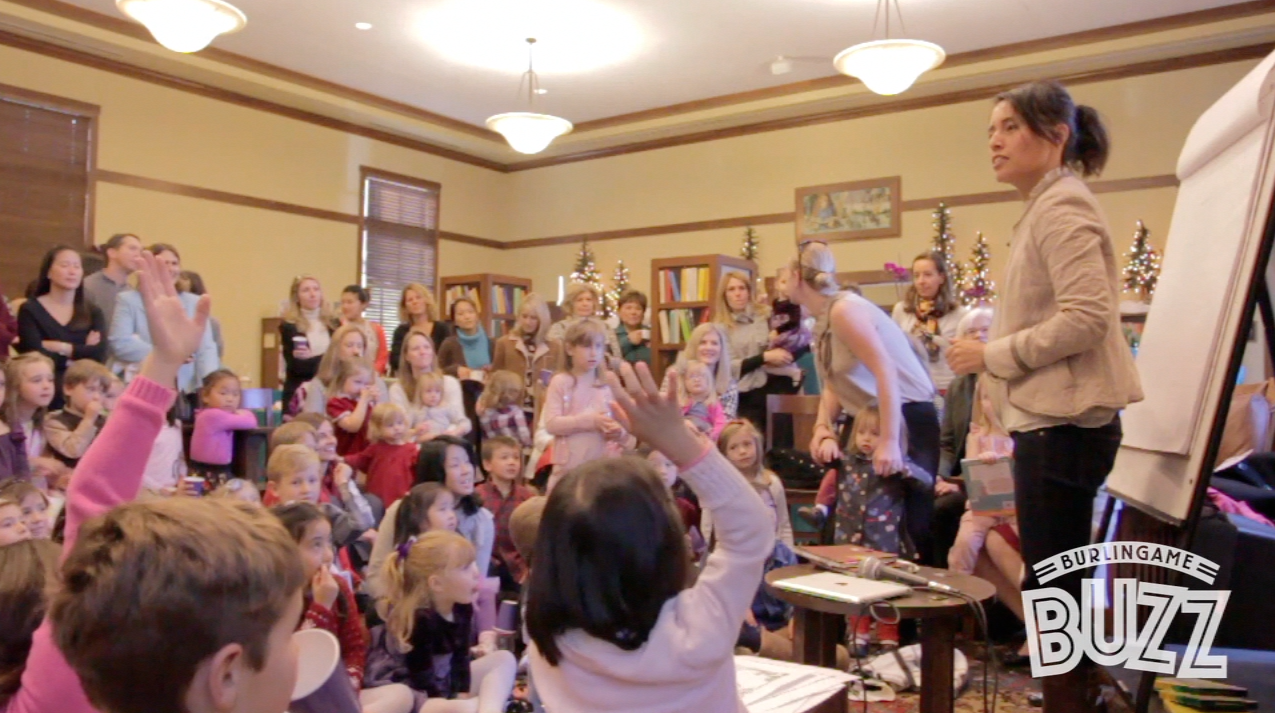 The Burlingame Library Foundation's Children's Holiday Tea